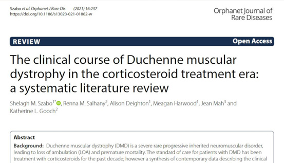 A new publication for the Broadstreet team in the Orphanet Journal of Rare Diseases